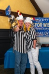 Our fantastic referees, Russ and Renee.